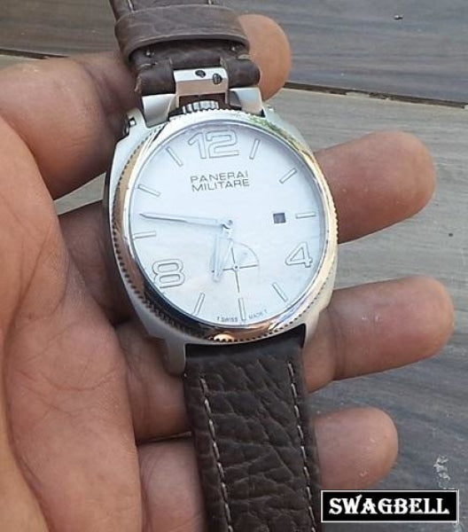 Panerai Militare White Swiss Automatic Watch