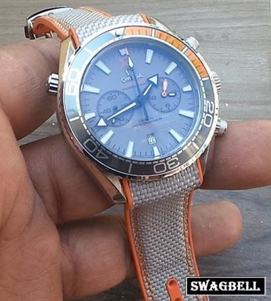 Omega Seamaster Chronograph Grey Watch