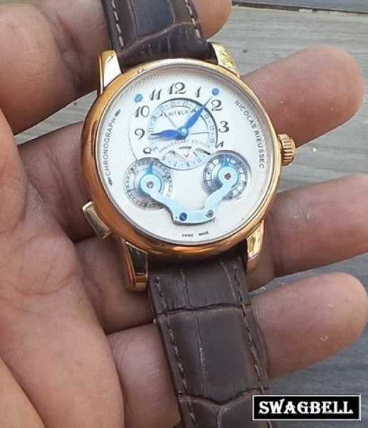 Mont Blanc Nicolas Rieussec Swiss Automatic Watch