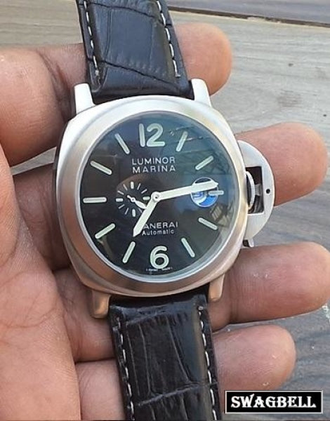 PANERAI POWER RESRVE SWISS AUTOMATIC WATCH