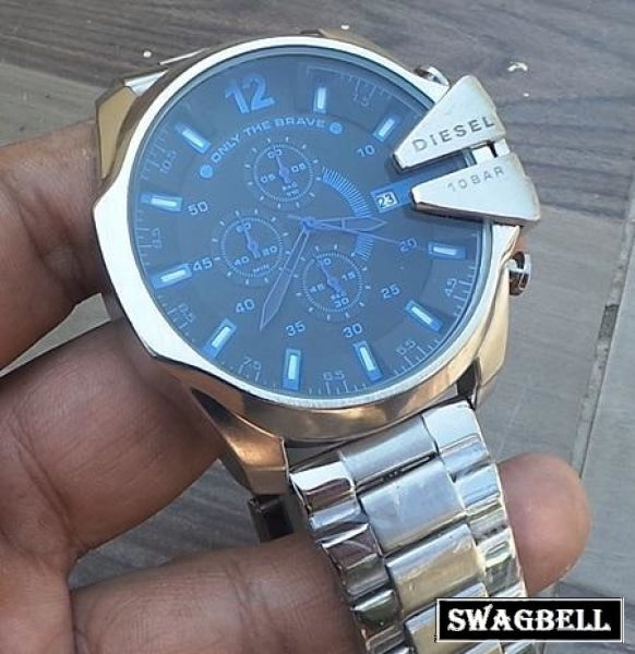 Diesel Steel Braclet Mens Watch