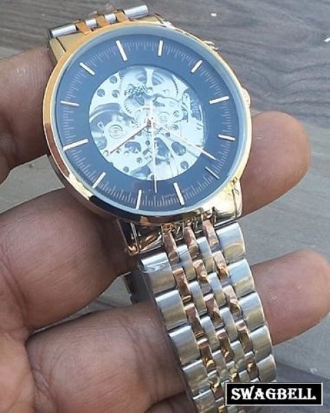 Fossil Grant Skeleton Swiss Automatic Watch