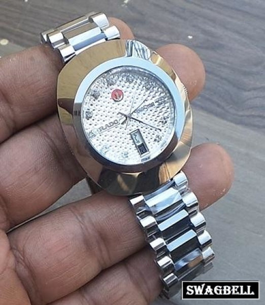 Rado Diastar White Dial Swiss Automatic Watch
