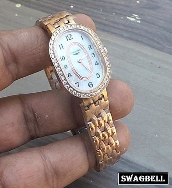 LONGINES ROSE GOLD WOMEN WATCH 3