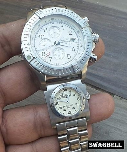 Breitling Dual Time Mens Watch