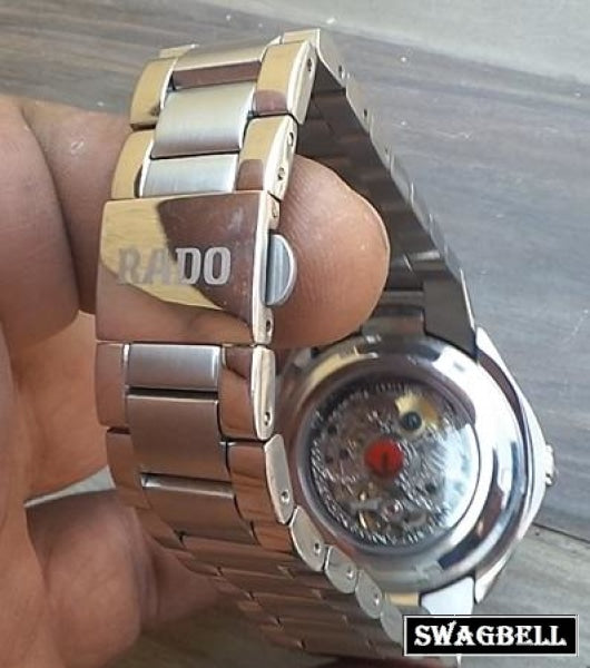 Rado Skeleton Chronometer Swiss Eta Valjoux Movement Watch