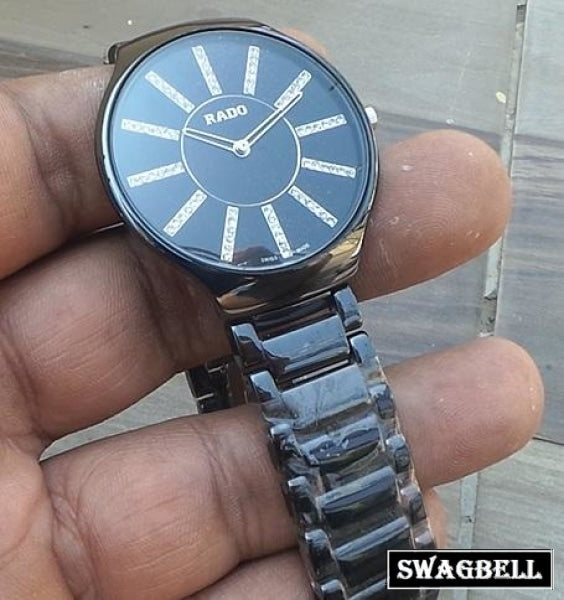 Rado Black Ceramic Mens Watch
