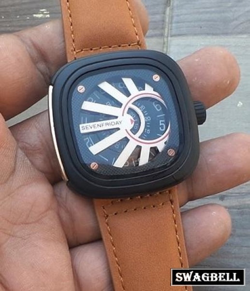 Seven Friday Black Mens Watch 2