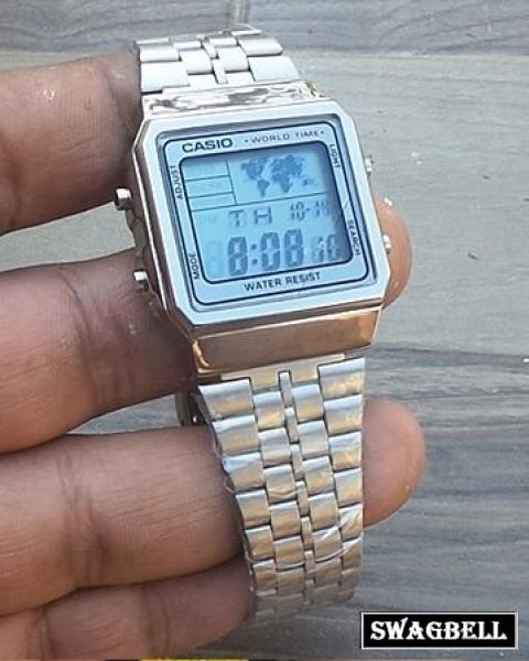 Casio Vintage Protection Steel Watch