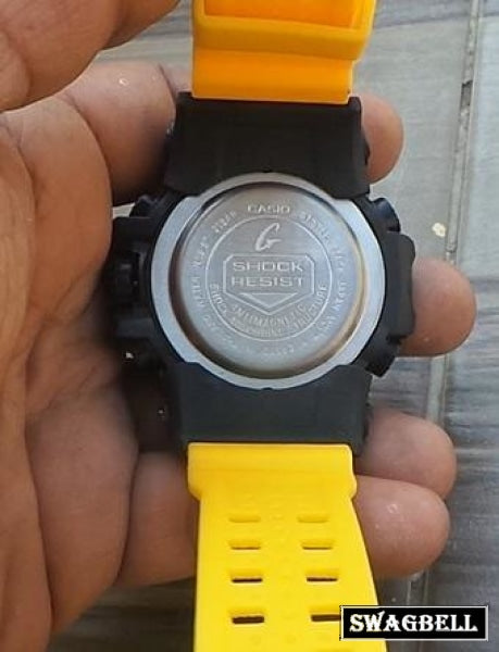 Casio G Shock Ferrai Yellow Mens Watch