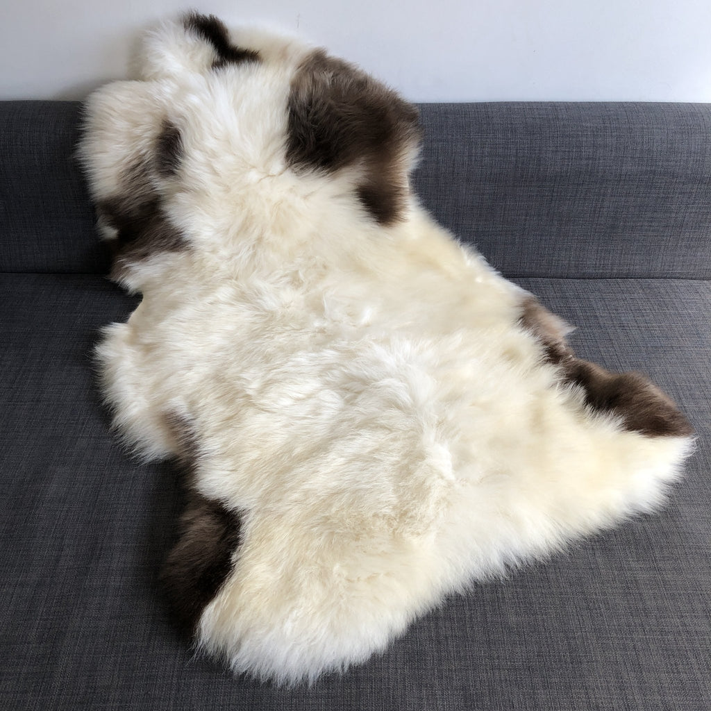 Albanian Ultra-Soft Natural Spotted Sheepskin Small ALB20-08-001 - Wildash London
