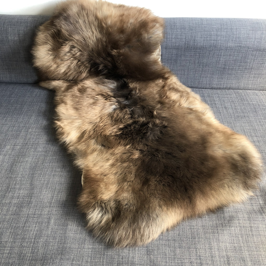 Albanian Ultra-Soft Natural Spotted Sheepskin Small ALB20-08-002 - Wildash London