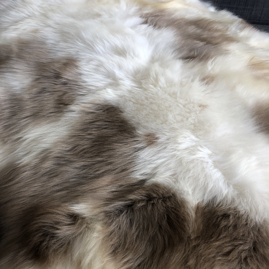 Albanian Ultra-Soft Natural Spotted Sheepskin Small ALB20-08-003 - Wildash London