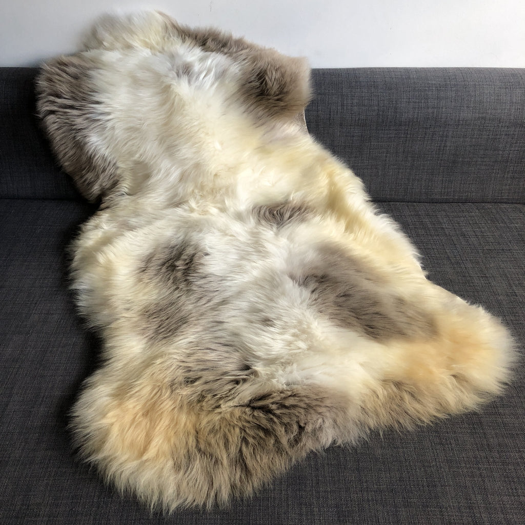Albanian Ultra-Soft Natural Spotted Sheepskin Small ALB20-08-004 - Wildash London