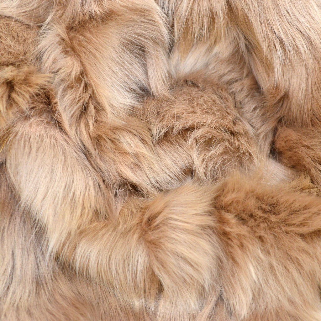 Angela Toscana Shearling Tippet Scarf - Wildash London