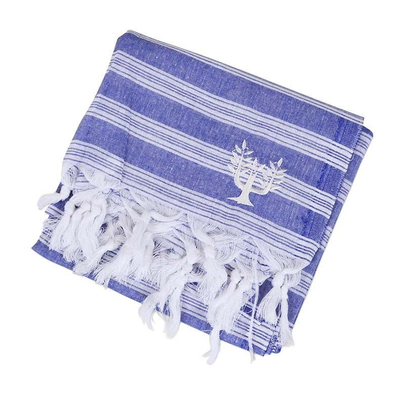 Backpacker Hammam Towel Navy - Wildash London