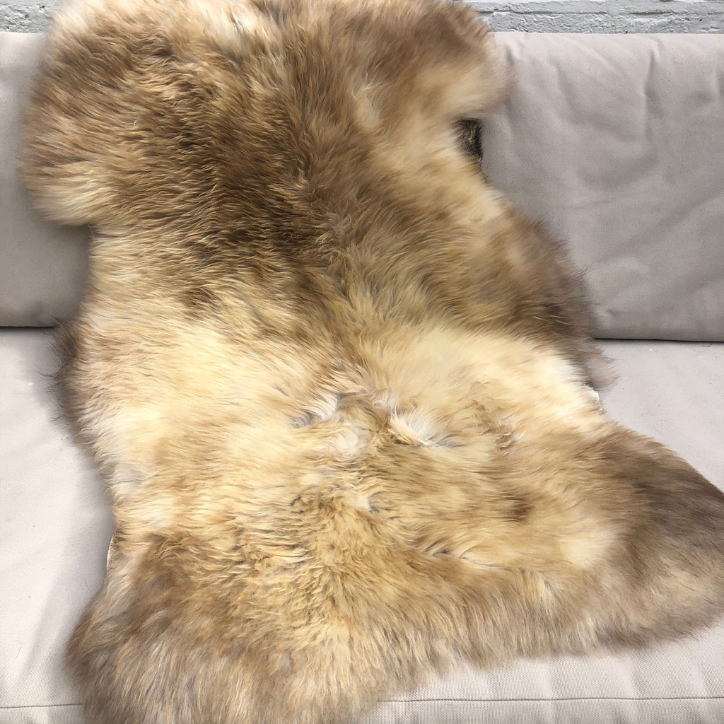 British Rare Breed Sheepskin Hide Unique Large 2503RBRL-02 - Wildash London