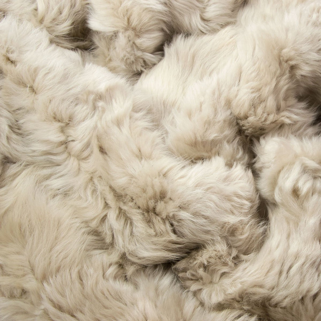 Champagne Sheepskin Throw 60cm x 120cm - Wildash London