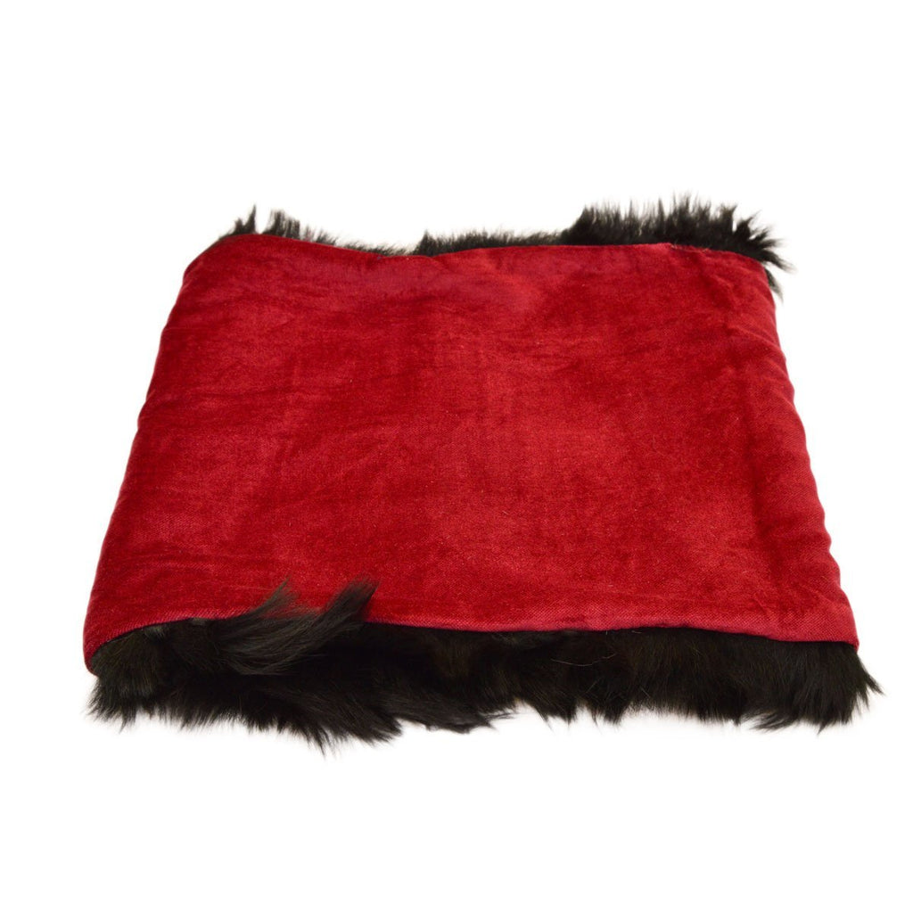 Ella Shearling Snood with Velvet Lining - Wildash London