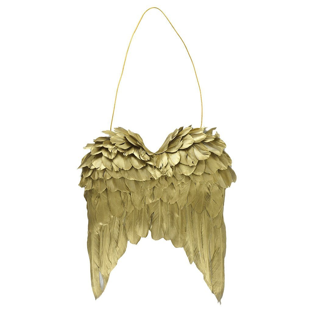 Gold Feather Wings Wall Decoration - Wildash London