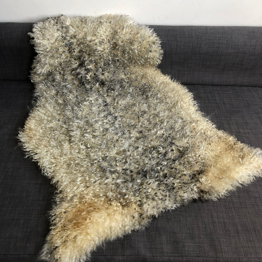 Gotland Rare Breed Sheepskin Natural Greys Mixed Sizes 1903GOT-06 - Wildash London