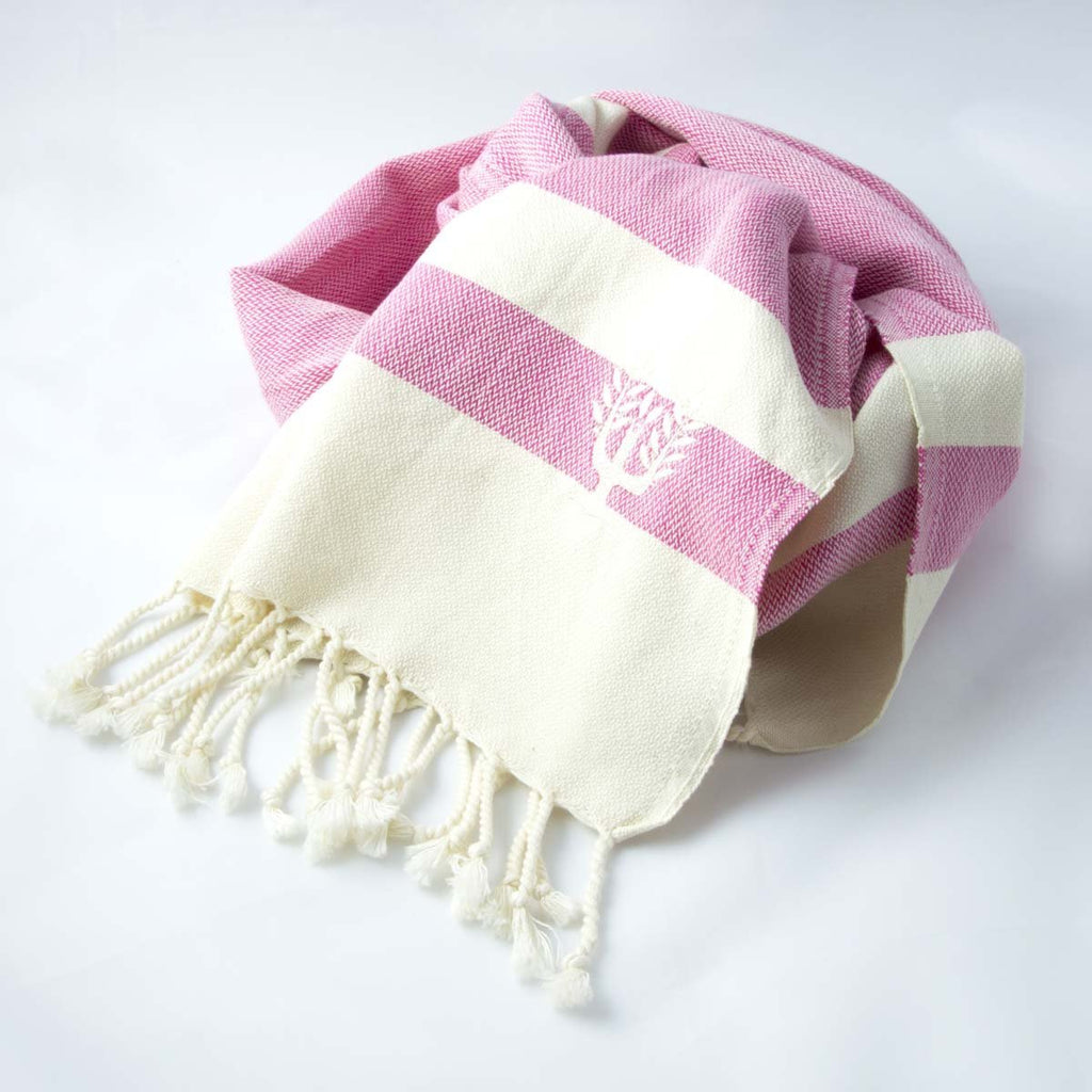 Ibiza Hammam Towel Rose - Wildash London