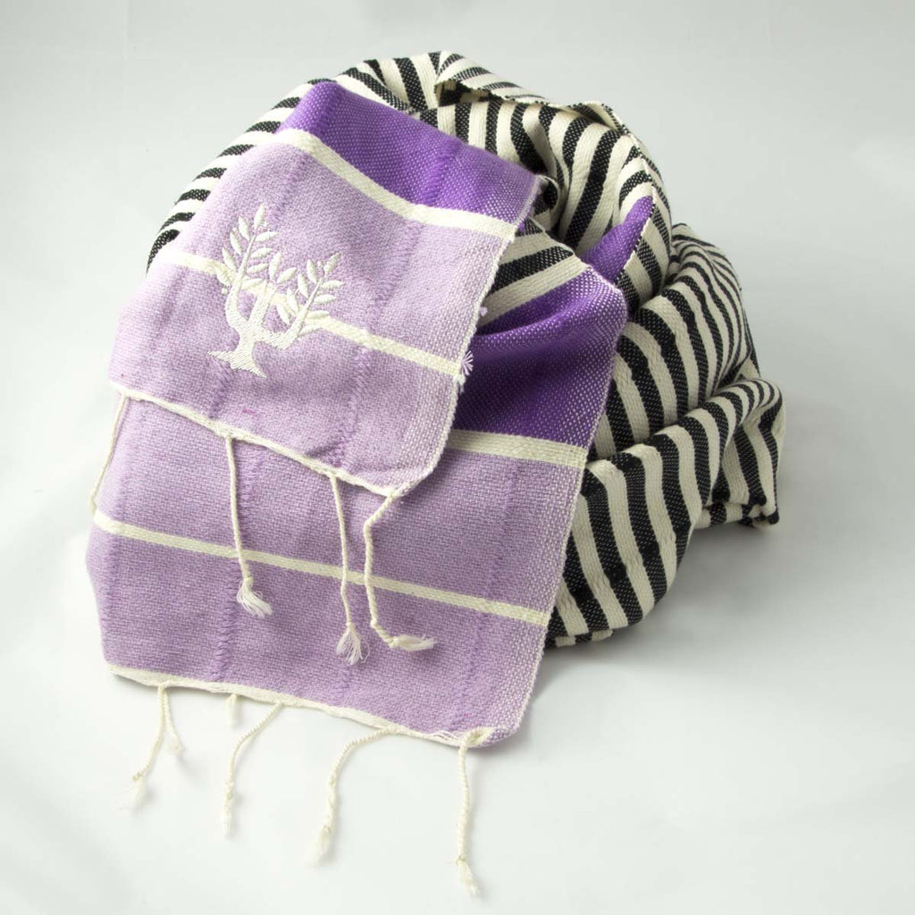 La Playa Hammam Towel Purple Haze - Wildash London
