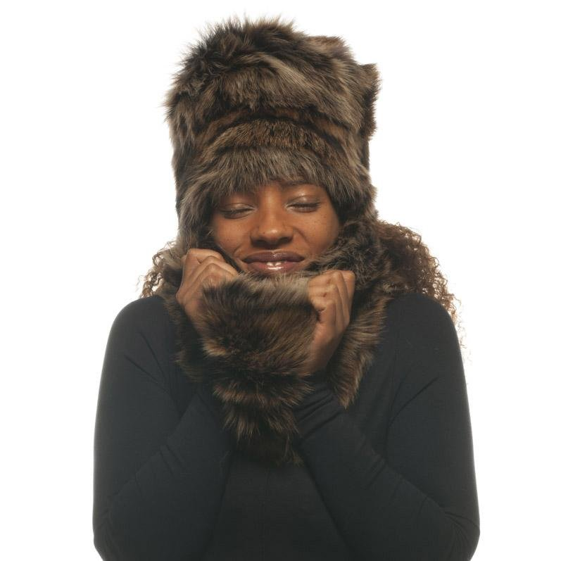 Marilyn Double Faced Toscana Shearling Snood - Wildash London