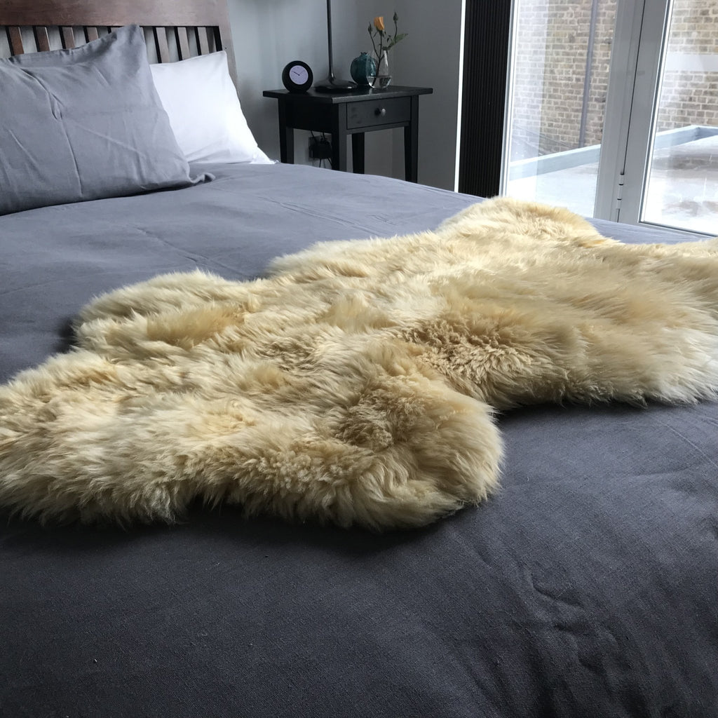Medical Grade Sheepskin | Baby Sheepskin | Hypoallergenic Relugan Long Fur - Wildash London