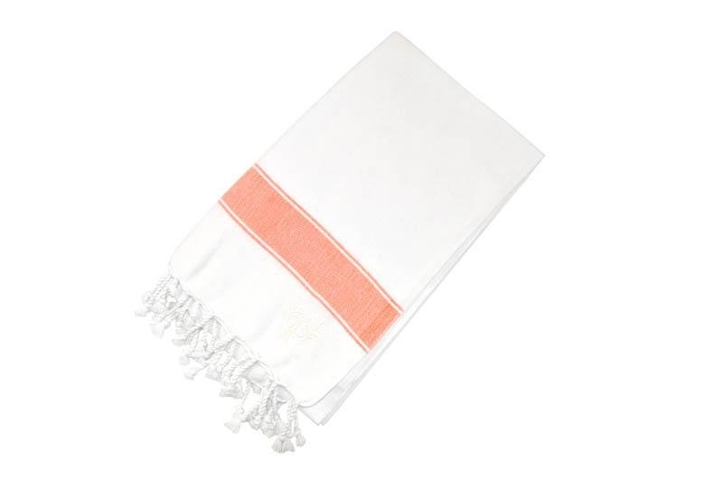 Penzance Hammam Towel Clementine - Wildash London