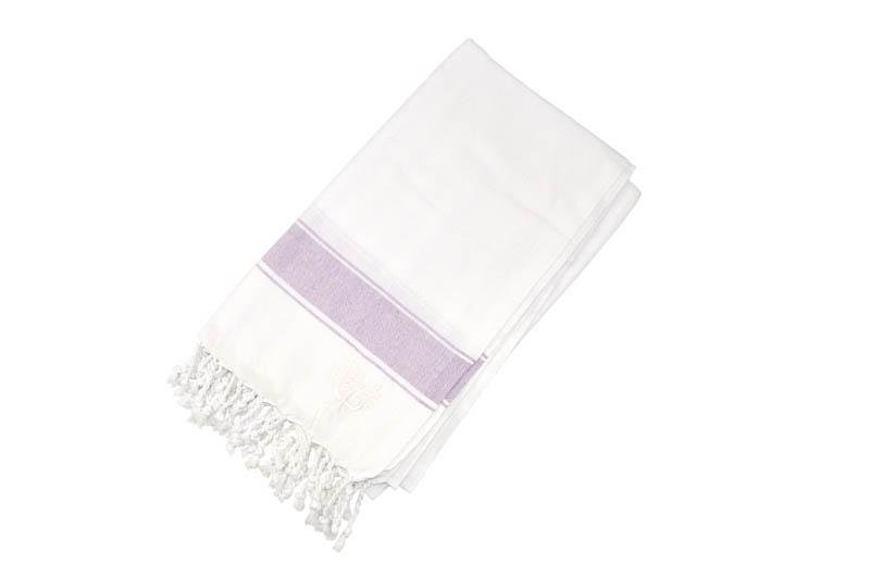 Penzance Hammam Towel Lavender - Wildash London