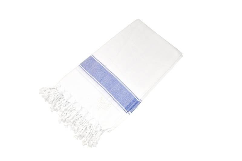 Penzance Hammam Towel Navy - Wildash London