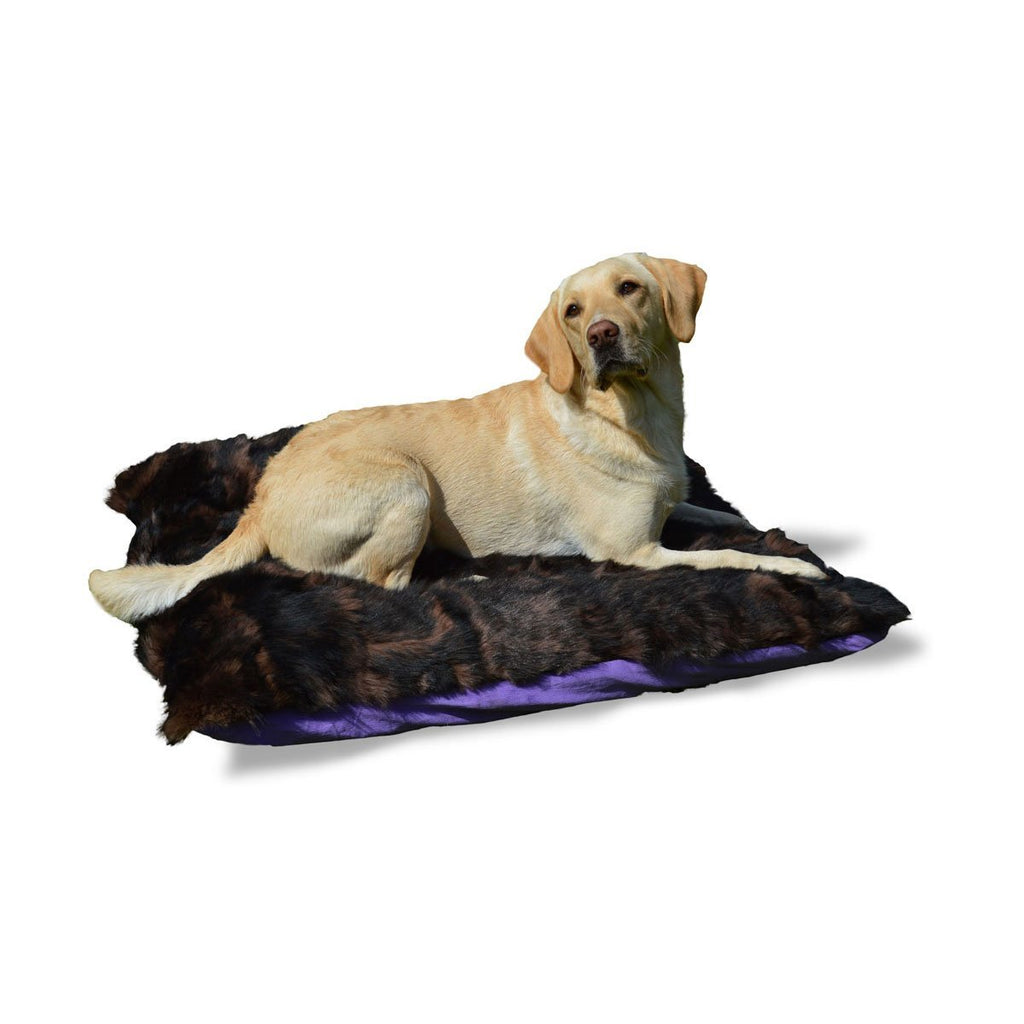 Shearling Pet Bed 90cm - Choose Options - Wildash London