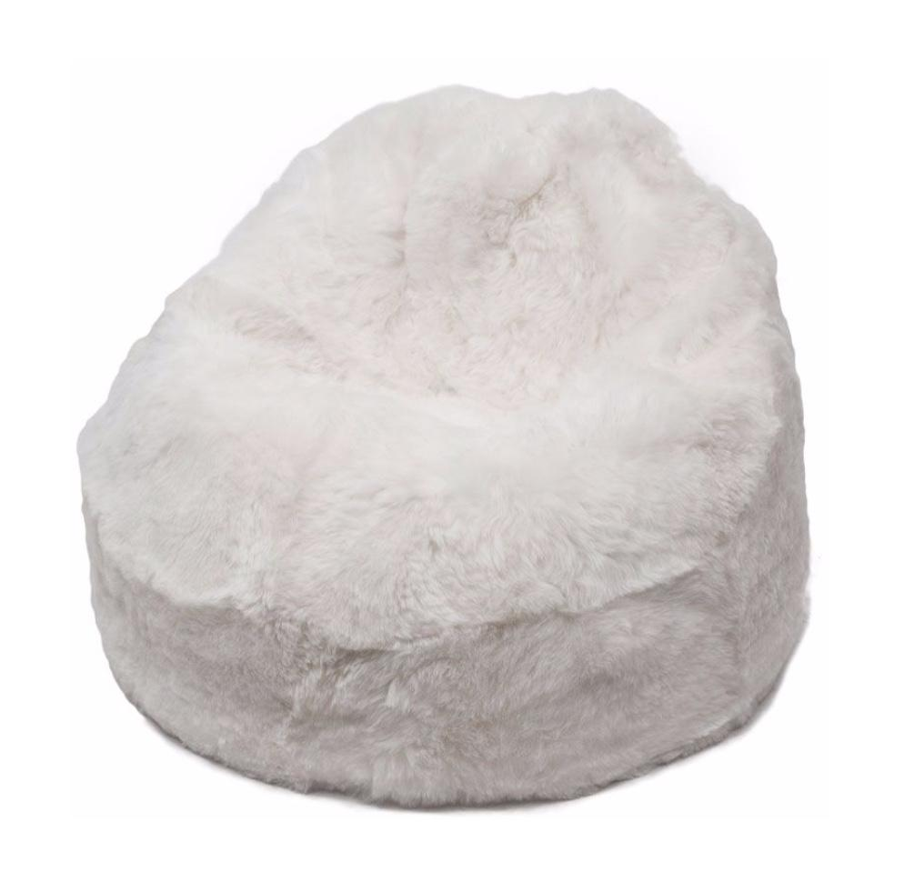 Sheepskin Beanbag Chair 100% Natural Icelandic Shorn 50mm Bean Bag ALL COLOURS - Wildash London