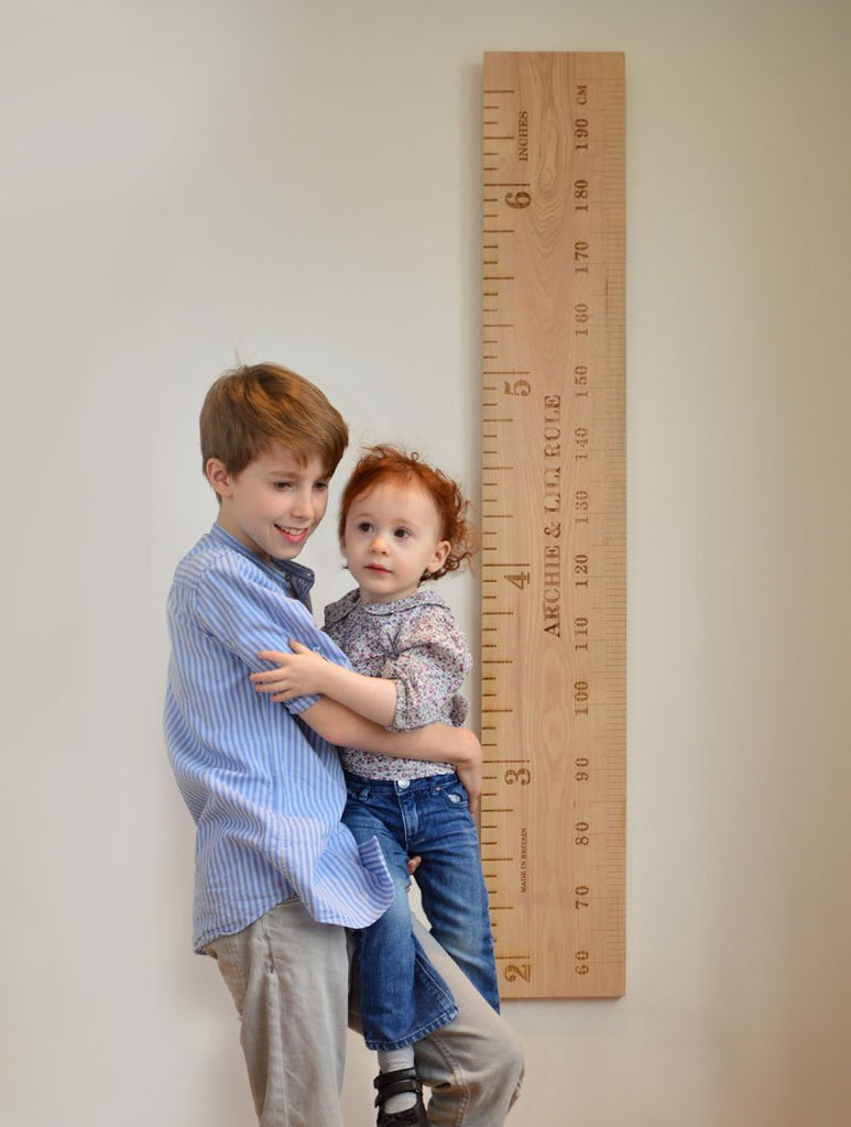 Shorty Kids Ruler Height Chart - Wildash London