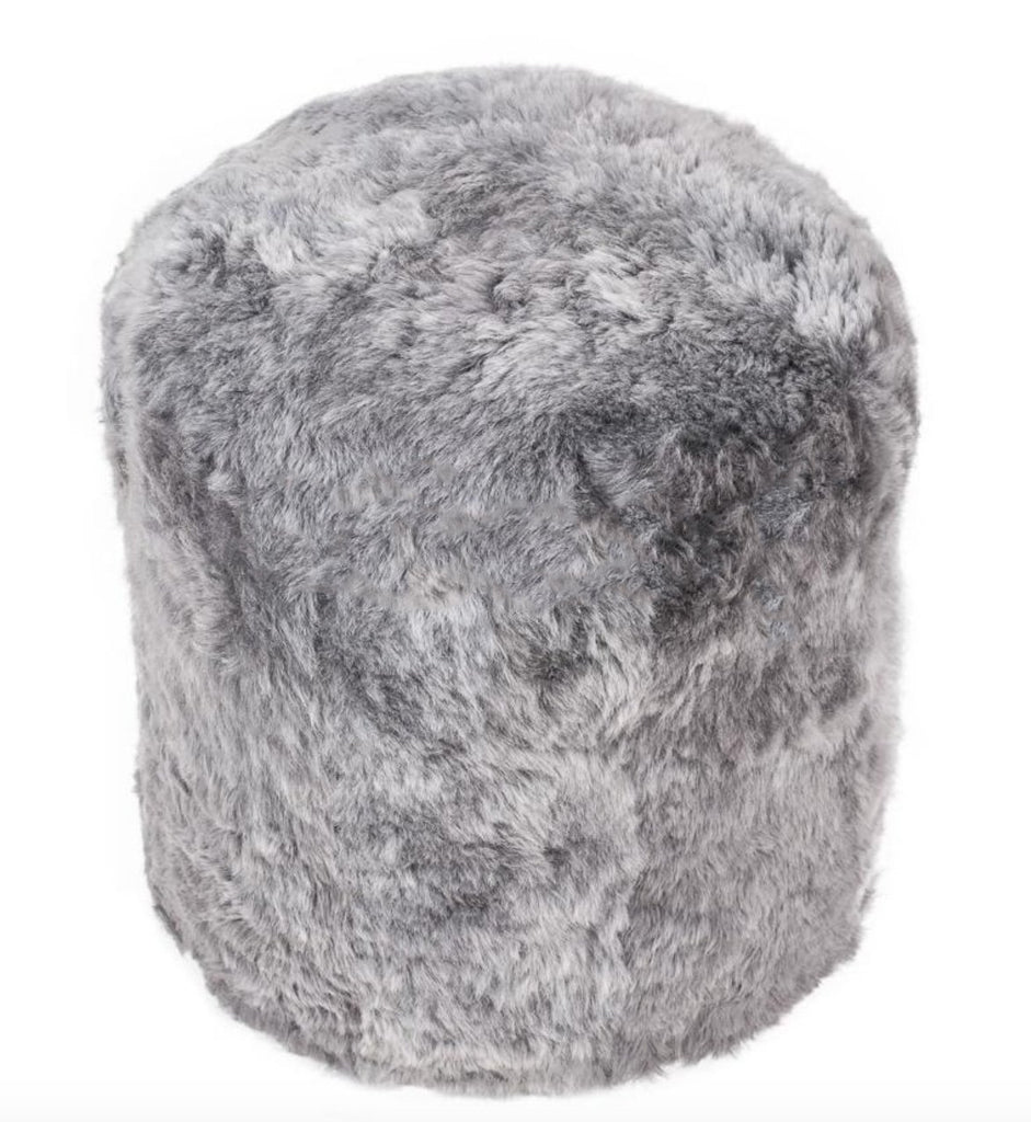 The Boudoir Sheepskin Pouffe - Icelandic Shorn ALL COLOURS - Wildash London