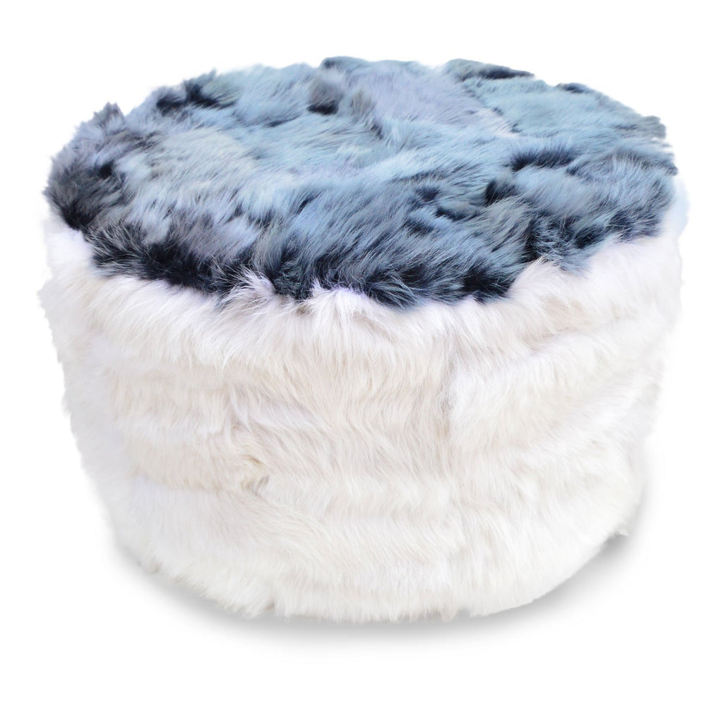 The Cossack Shearling Pouffe - Wildash London