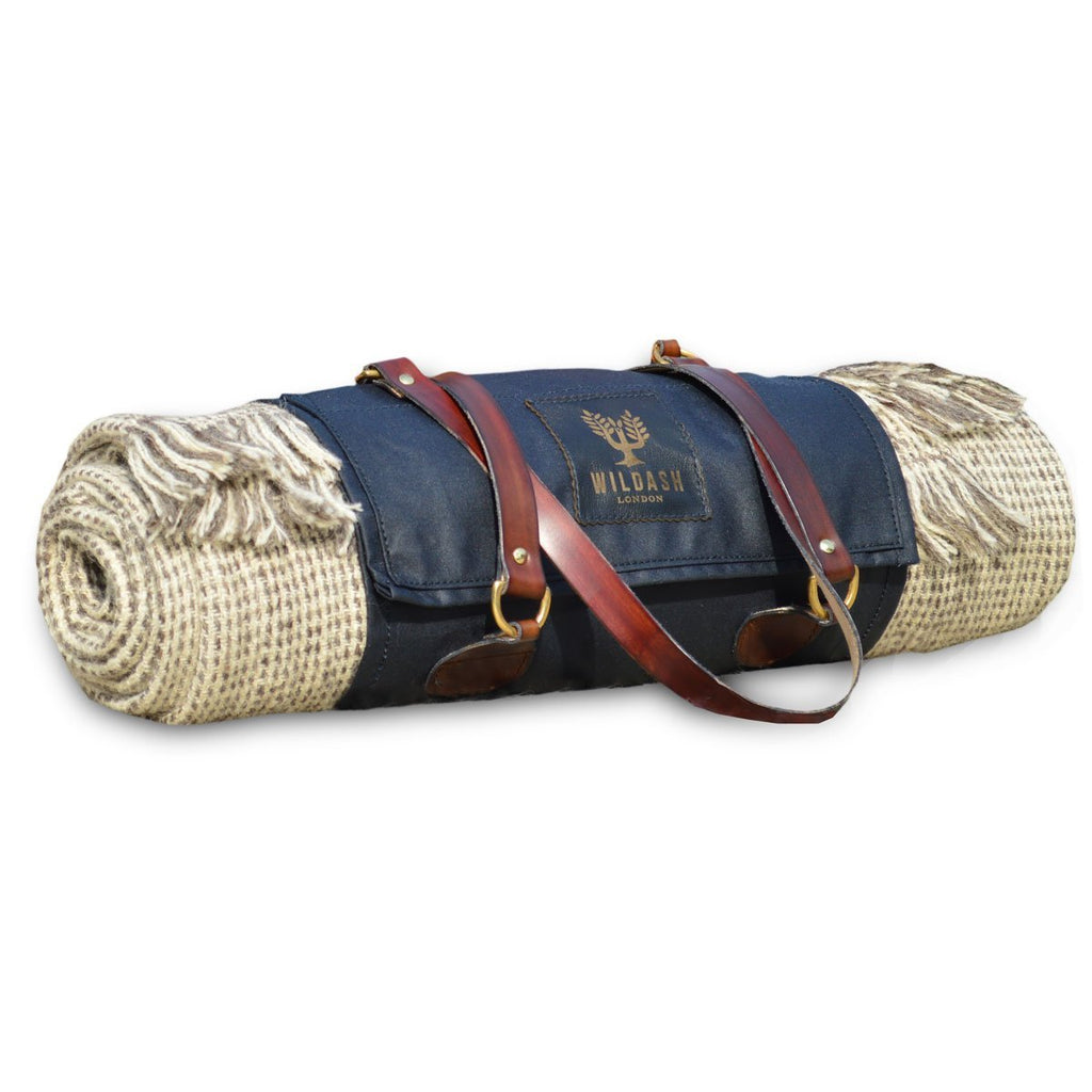 The Goodwood Woollen Picnic Blanket - Wildash London
