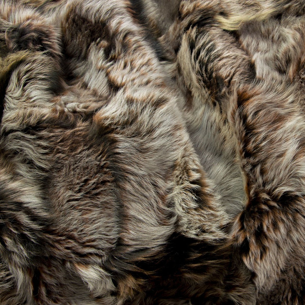 Wolverine Shearling Rug - Choose Size - Wildash London