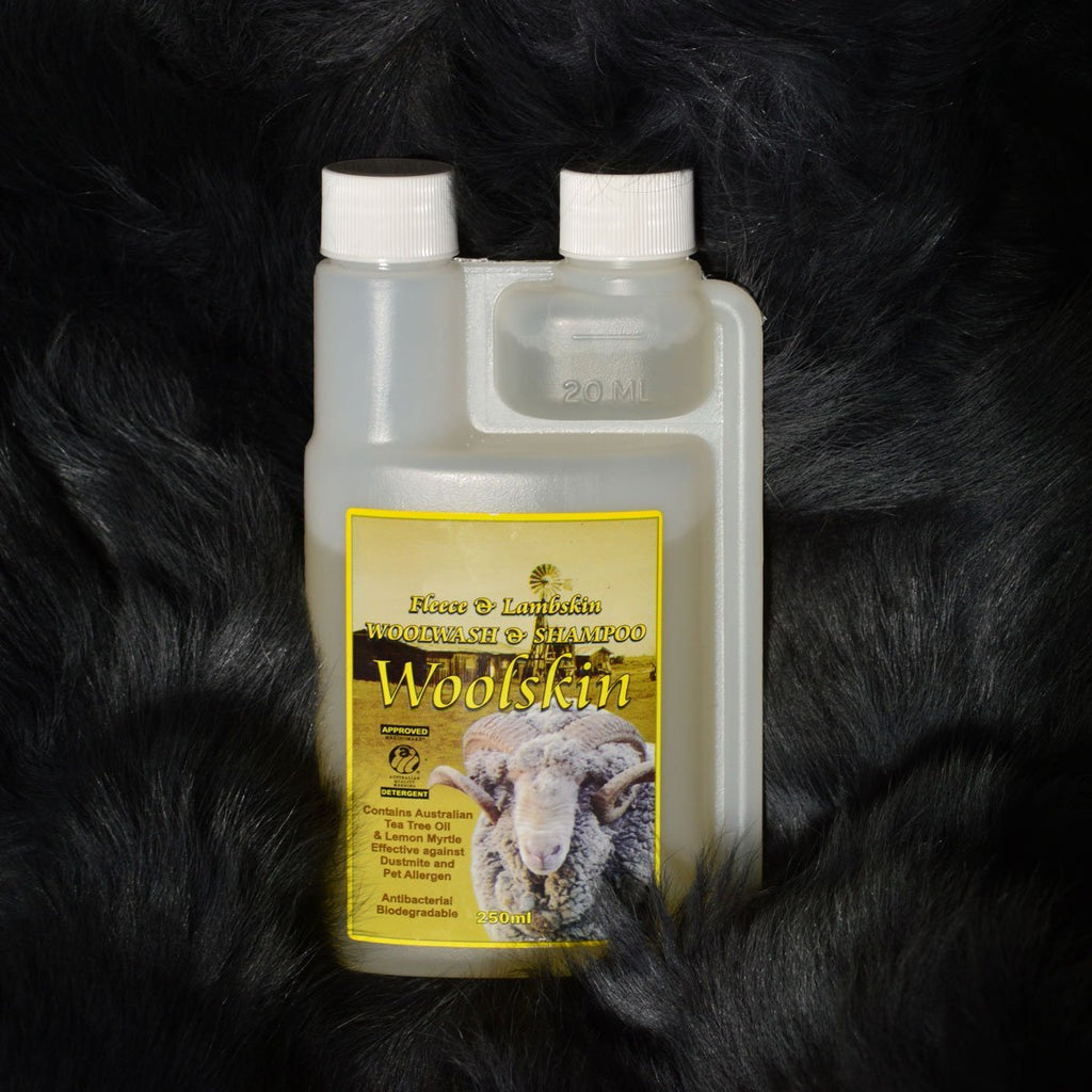 Woolskin Fleece & Lambskin Woolwash and Shampoo 250ml - Wildash London