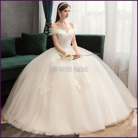 Collection 2020, robe de mariée princesse,