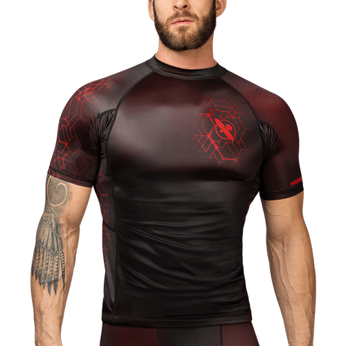Hayabusa Geo Short Sleeve Rash Guard