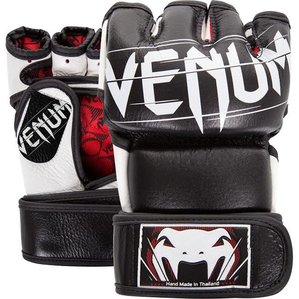 Venum Undisputed 2.0 4 oz MMA Gloves - Black/Red/White