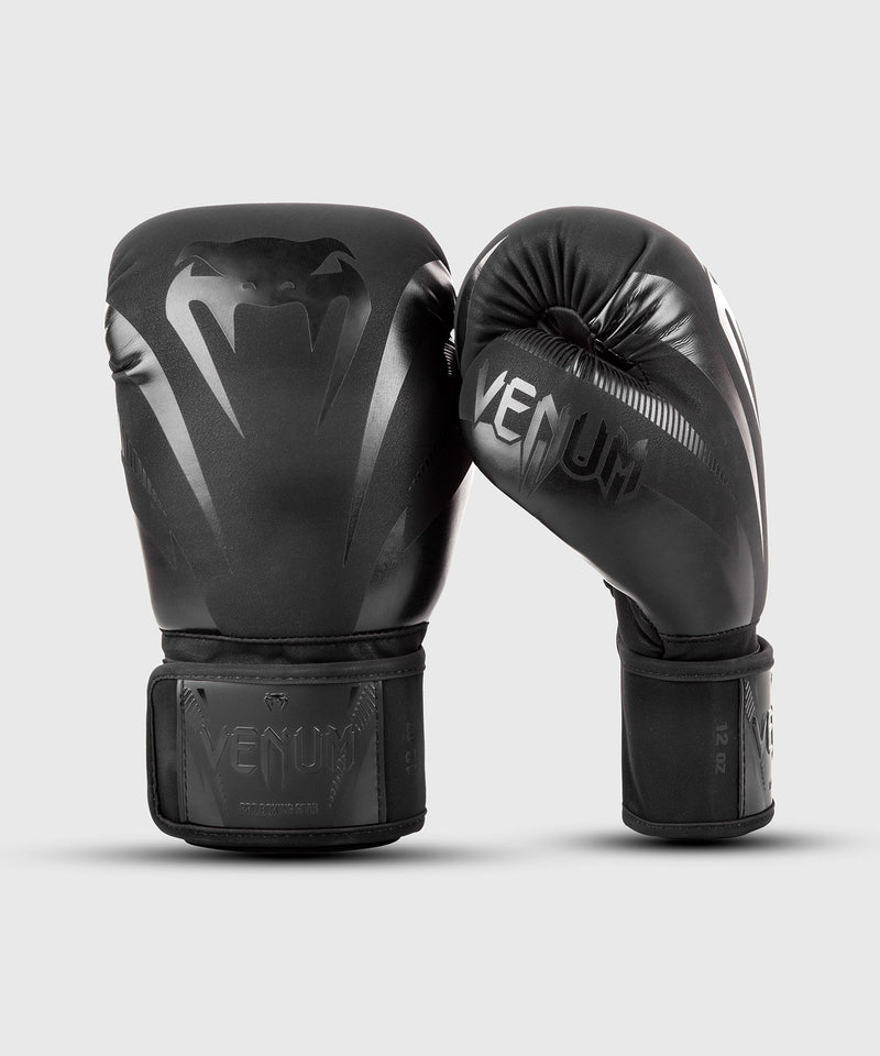 Venum Impact Gloves - Black/Black