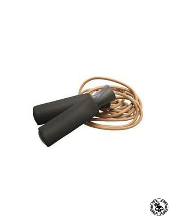 Combat Sports Leather Jump Rope