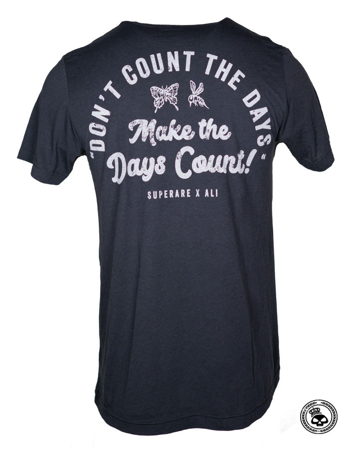 "Superare x Ali ""Days Count"" Triblend Shirt"