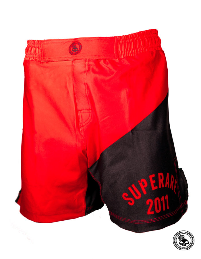 Superare Founded 2.0 Grappling Shorts - Red/Black