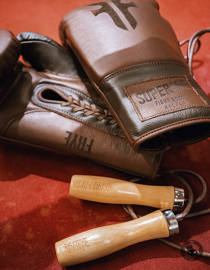 Superare x Frye Leather Jump Rope