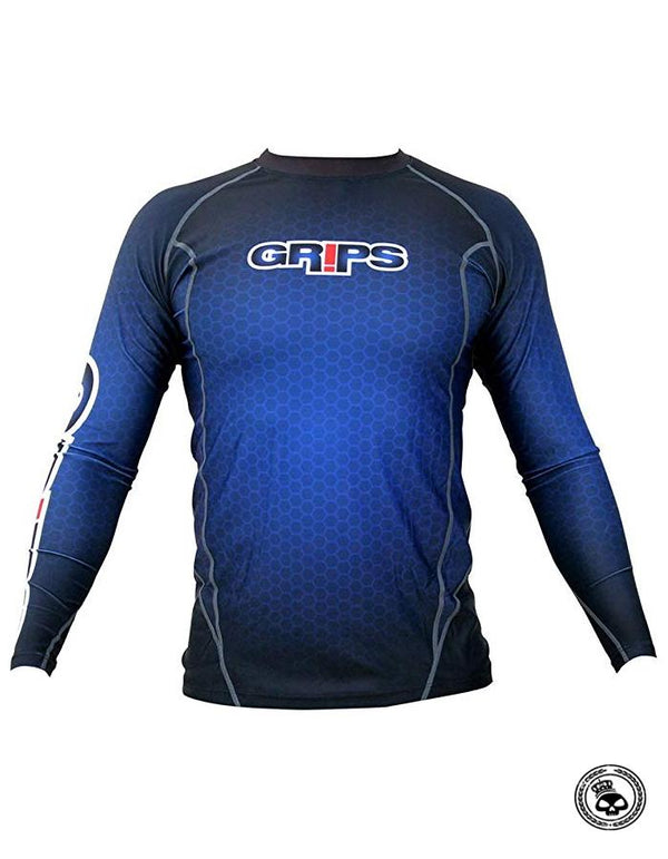 Grips Long Sleeve Rash Guards