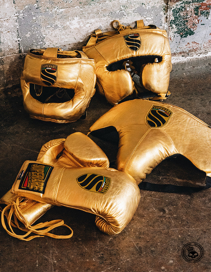 Superare S50 Lace Up Gloves - Gold